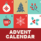 Christmas Advent Calendar - GraphicRiver Item for Sale