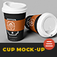 Coffee Cup Branding Mockup - GraphicRiver Item for Sale