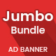 Multipurpose HTML5 AD Banner Jumbo Template 01 - CodeCanyon Item for Sale