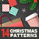 14 Christmas Pixel Seamless Patterns - GraphicRiver Item for Sale