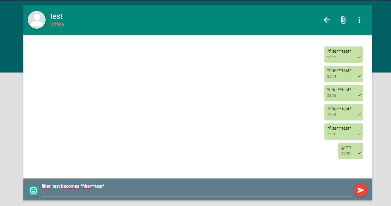 WebSocket Live Chat (Instant Messaging) - PHP