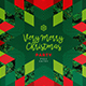 Modern Merry Christmas Card - GraphicRiver Item for Sale