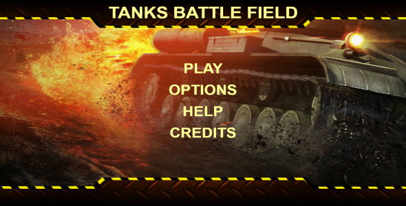 Tanks Battle Field - HTML 5 Game (Mobile Optimised) - CodeCanyon Item for Sale