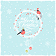 Christmas Background with  Bullfinches - GraphicRiver Item for Sale