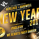 New Year Party Poster / Flyer V18 - GraphicRiver Item for Sale