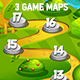3 Vertical Game Maps - GraphicRiver Item for Sale