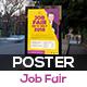Job Fair Poster Template V1