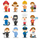80 Professions - GraphicRiver Item for Sale