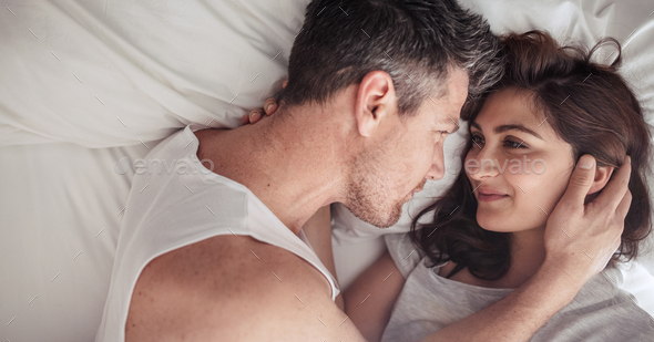 Young couple in love - Stock Photo - Images