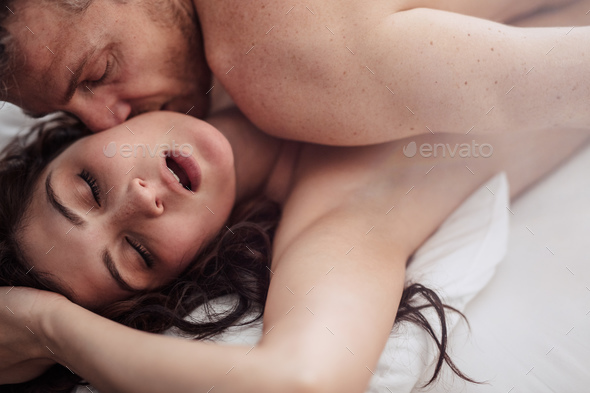 Passionate couple is having sex - Stock Photo - Images