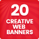 Creative Web Banners - Vol. 1 - GraphicRiver Item for Sale