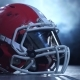 Helmet American Football Players in the Smoke Background - VideoHive Item for Sale