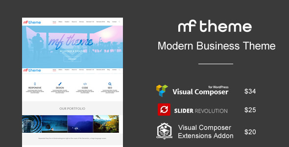 MF | Responsive Multipurpose Theme