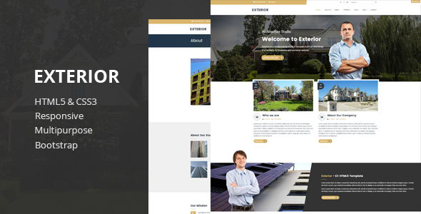 Exterior – Multipurpose HTML5 Template