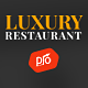 Luxury - Restaurant & Cafe Theme Nulled