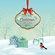 Vector Christmas Winter Landscape - GraphicRiver Item for Sale