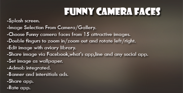 Funny Camera Faces - CodeCanyon Item for Sale