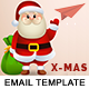 X-MAS - Responsive Newsletter and Notification Template with Stampready Builder Access - ThemeForest Item for Sale