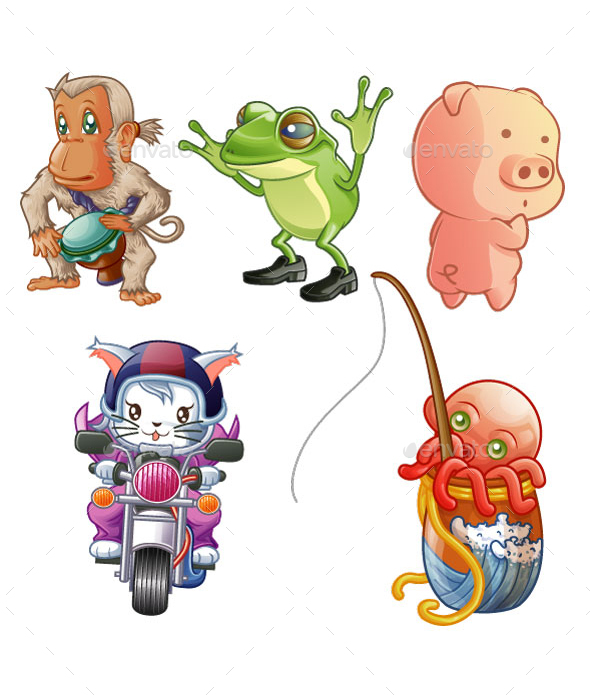 Animals - Miscellaneous Characters