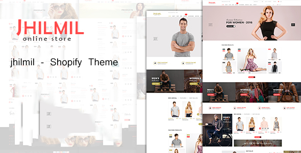 Image of Jhilmil - Responsive Shopify Theme