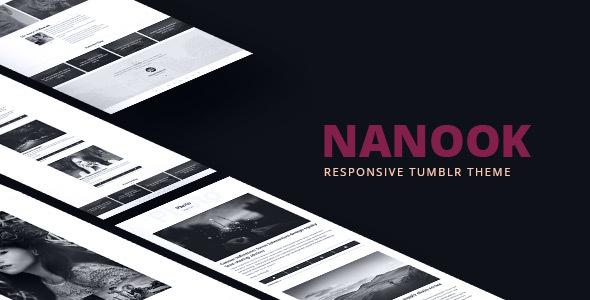 Nanook – Responsive Tumblr Portfolio Theme
