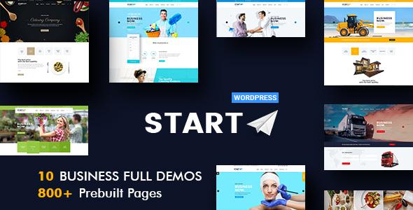 Start - Multiuse Business WordPress Theme - Business Corporate