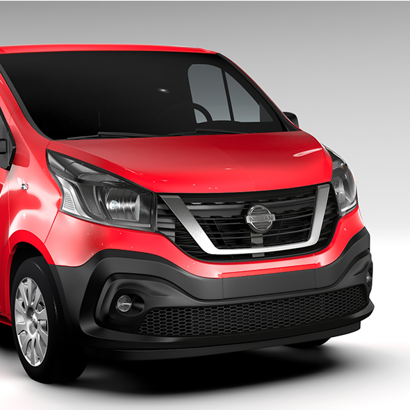 Nissan NV300 Van 2016 - 3DOcean Item for Sale