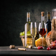 Still on the subject of wine on wooden table - PhotoDune Item for Sale