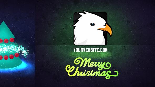 Quick Christmas Logo Opener