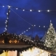 Illuminated Christmas Tree and Old City Fair - VideoHive Item for Sale