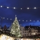Christmas Tree at Old Tallinn Town Hall Square - VideoHive Item for Sale
