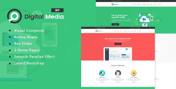 Digital Media – Digital Marketing WordPress theme