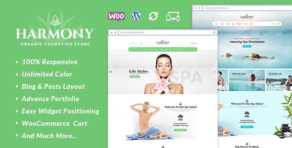 Harmony – Responsive WooCommerce Theme