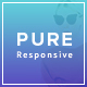 Pure - Responsive Creative Portfolio Muse Template - ThemeForest Item for Sale