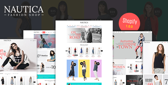 Nautica - Multi Store Responsive Shopify Theme - Shopify eCommerce
