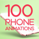 100 Minimal Phone Animations - VideoHive Item for Sale