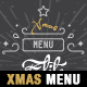 A4 Modern Christmas Menu Template - GraphicRiver Item for Sale