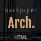 BackpiperArch - Architecture, Interior, Portfolio HTML Template - ThemeForest Item for Sale