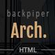 BackpiperArch - Architecture, Interior, Portfolio HTML Template