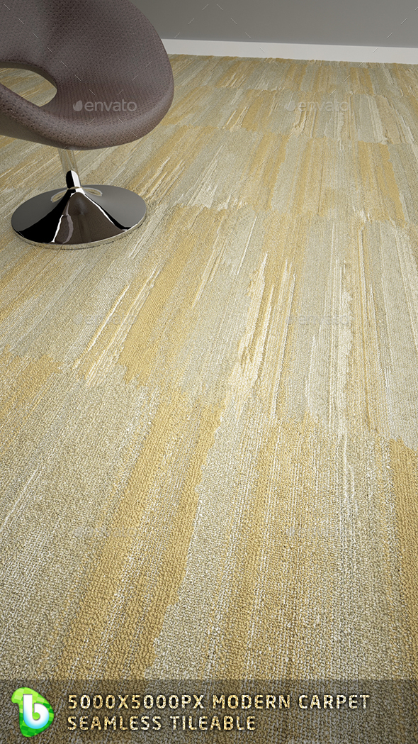 Modern Carpet - Beige - 3DOcean Item for Sale