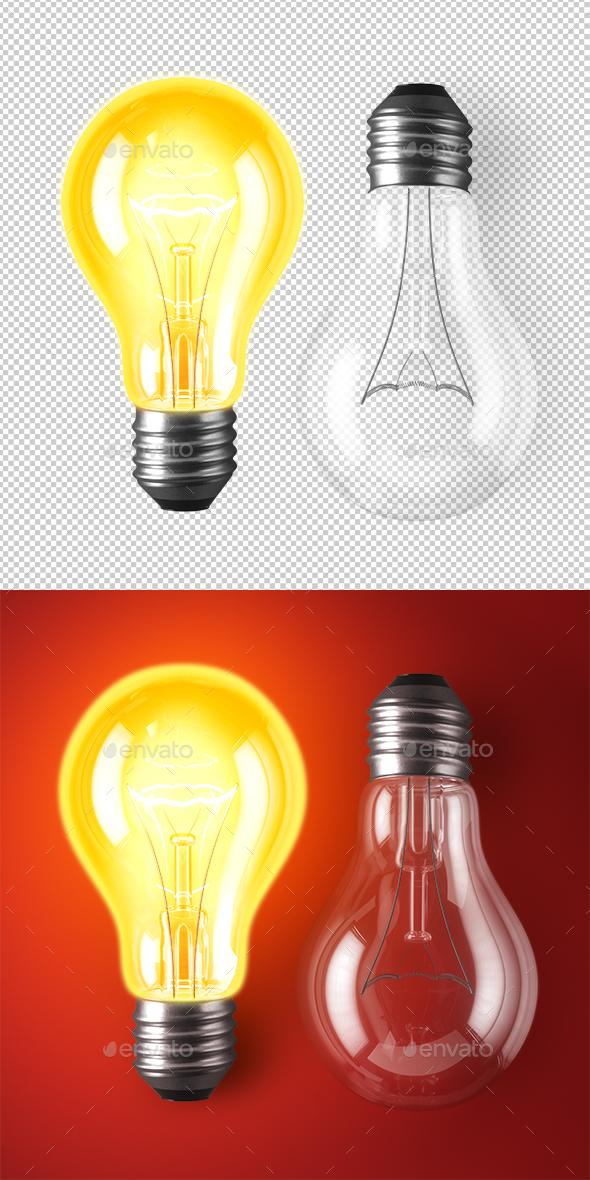 Lamp Bulbs - Objects 3D Renders