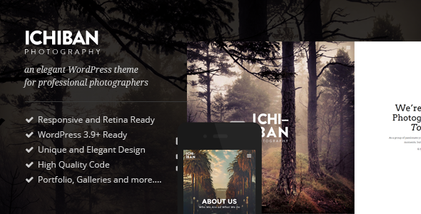 Ichiban - A Theme for Photographers
