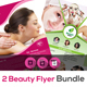 Beauty Spa Salon Flyer Bundle V3