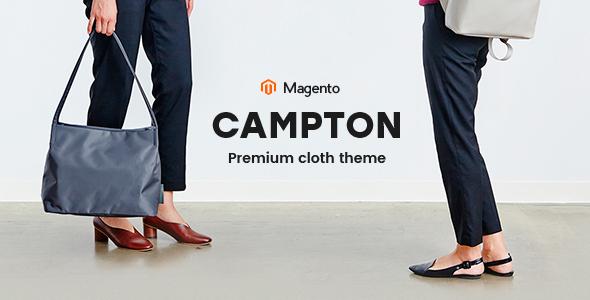 Campton – Responsive Magento Theme