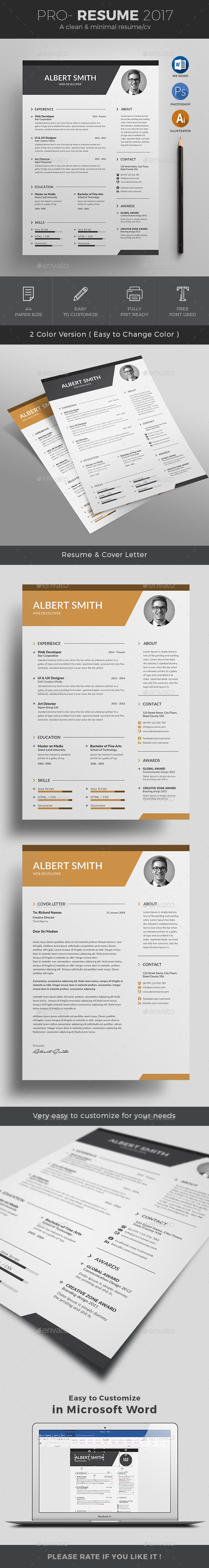 Resume by jpixel55 | GraphicRiver