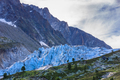 Argentiere Glacier in Chamonix Alps, France