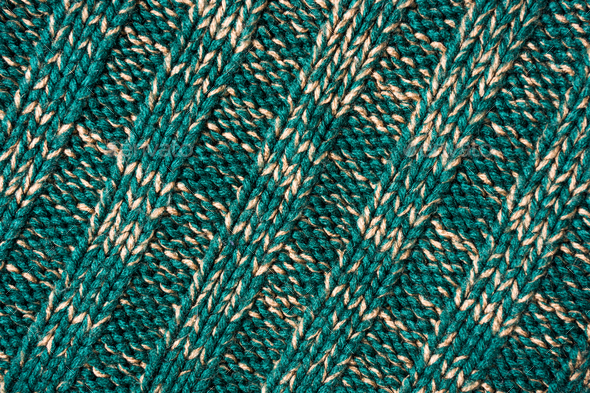 Green wool fabric texture detail - Stock Photo - Images