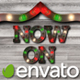 Light Bulb Christmas Letters - VideoHive Item for Sale