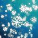 Snowflakes Christmas Background - 9