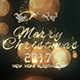 Christmas Particle Logo - VideoHive Item for Sale